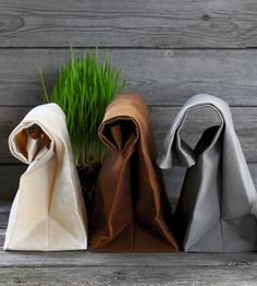Eco conscious Waxed Canvas Reusable Lunchbag – Set of 3 | Italic Home | Scoutmob Shoppe |