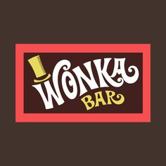 Shop Willy Wonka Bar Logo wonka bar t-shirts designed by tvshirts as well as other wonka bar merchandise at TeePublic. Bar Logo, Willy Wanka, Wonka Factory, Alice In Wonderland Paintings, Charlie Chocolate Factory, Roald Dahl Day, Paper Train, Texas Tattoos, Puzzle Board