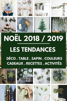 Découvrez les Tendances de Noël 2018 pour la Déco, les Couleurs, le Sapin, les Cadeaux, la Table de Noël,... Christmas Is Coming, Christmas And New Year, Christmas Time, Christmas Table Decorations, Holiday Decor, Deco Table Noel, Hygge Christmas, Secret Santa, Christmas Inspiration