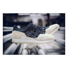 """""""Japanese Textile"""" Gel-Lyte III @asicstigerhq #colette #asics in store & online"""