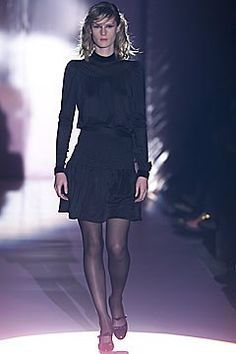 Lawrence Steele Fall 2001 Ready-to-Wear Fashion Show - Lisa Ratliffe, Lawrence Steele