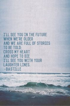 bastille when you close your eyes