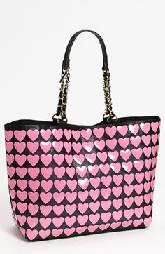 Betsey Johnson Hearts Tote available at #Nordstrom
