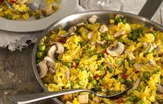 Receita Dedo de Moça: Paella Vegetariana