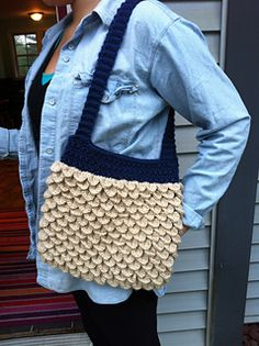 Crochet Crocodile Stitch Tote-Pattern by Penelope Rae!