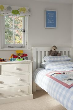 Wealden Times | House | Best in Show - Blue gingham makes the perfect decor for a young boy's bedroom