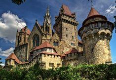 """Burg Kreuzenstein is a castle near Leobendorf in Lower Austria, Austria. It was constructed in the 19th century by the Wilczek famil..."