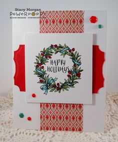 wreaths plain and fancy http://powerpoppy.com/collections/clear-stamps/products/wreaths-plain-and-fancy
