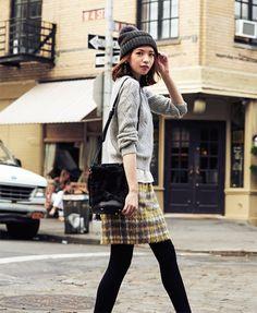 画像 : 2014秋冬のトレンドカラー「グレー」は女性を魅力的にしてくれる♡ - NAVER まとめ
