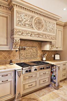 Tuscan Kitchen Design On A Budget. Tuscan Kitchen Design On A Budget. Tuscan Kitchen Design On A Bud Tuscandesign Tuscan Kitchen Design, Luxury Kitchen Design, Tuscan Design, Tuscan Style, Luxury Kitchens, Interior Design Kitchen, Tuscan Kitchens, Diy Kitchens, Kitchen Designs