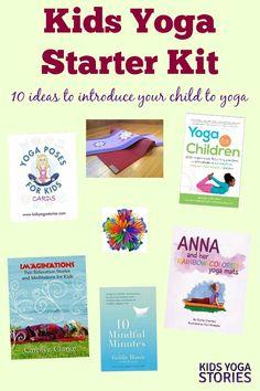 Kids Yoga Starter Kit: 10 gift ideas to introduce your children to yoga | Kids Yoga Stories