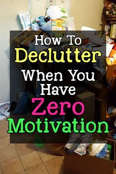 How To Get Motivated To Clean When Depressed & UN-Motivated (Cleaning Motivation! Need cleaning motivation? How to declutter and organize - Life Hacks Iphone, Life Hacks Diy, Simple Life Hacks, Home Hacks, Deep Cleaning Tips, House Cleaning Tips, Cleaning Hacks, Borax Cleaning, Konmari