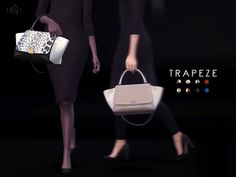 The Sims Resource: Handbag – TRAPEZE by Starlord • Sims 4 Downloads