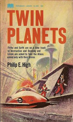 Twin Planets, book cover
