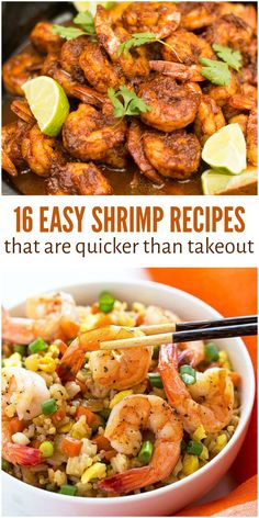 16 Easy Shrimp Recipes That Are Quicker Than Takeout Don't let the busy-ness of the week get you down. With these crazy easy shrimp recipes, you can make a healthy home cooked meal in the time it takes to order and pick up takeout! Frozen Cooked Shrimp, Frozen Shrimp Recipes, Cooked Shrimp Recipes, Shrimp Recipes For Dinner, Fish Recipes, Seafood Recipes, Easy Home Cooked Meals, Quick Meals, No Cook Meals
