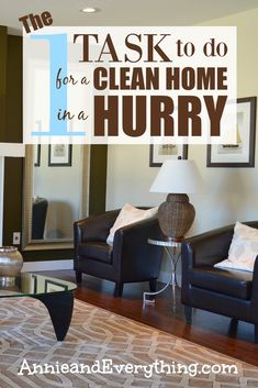 Needing a clean home quickly and don't know how to prioritize? Doing this one job will make your house look clean better than any other. Once you know what it is, you may find yourself using it even when you're not in a rush! Which means more time for yourself -- try it today!