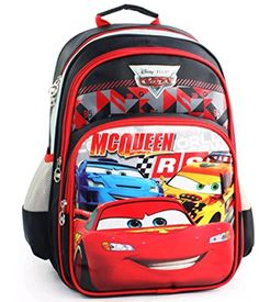Disney Primary Pupils School Bag Unisex Children School Backpack Cars *** You can find out more details at the link of the image.