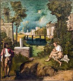 La Tempesta è un dipinto di Giorgione, databile al 1502-1503 circa e realizzato con la tecnica dell'olio su tela. Oggi è conservato nella Galleria dell'Accademia di Firenze.