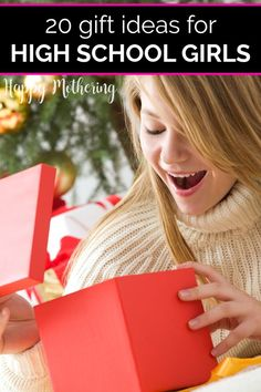Shopping for teenage girls can be fun if you know what you're looking for! Check out our list of some of the best gift ideas for high school girls. We have some unique options chosen with today's teens in mind!