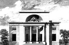 Hôtel de Mlle Guimard - Paris - Elevation - Claude-Nicolas Ledoux — Wikipédia