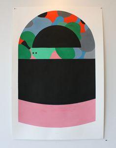 Beached Mind – Geoff McFetridge – Original Artwork | HVW8