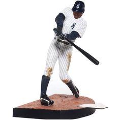 Mcfarlane 2012 MLB Series 30 Curtis Granderson New York Yankee Action Figure Sports Figures, Action Figures, Curtis Granderson, New York Yankees, Skateboard, Baseball, Toys, Age
