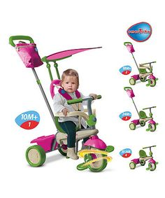 Smart Trike Vanilla Tricycle - Pink - baby ride on toys & trikes - Mothercare Baby Girl Gifts, Gifts For Girls, Baby Ride On, Ride On Toys, 1st Christmas, Xmas, 4 In 1, Toys Shop, Infant Activities