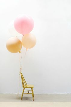 """Balloon for your event? Latex balloon with helium starts from RM3.80 per unit. Foil balloon in 18"""" with helium starts from RM10.80 per unit."""