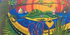 Resene Mural Masterpieces Competition - Riverview Primary School