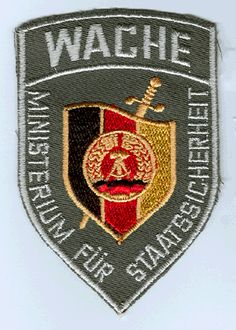 Stasi patch, after 1990