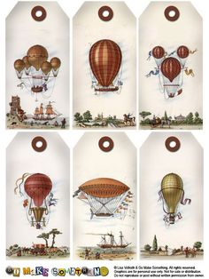 Go Make Something » Tags -hot air baloons - use on masculine cards