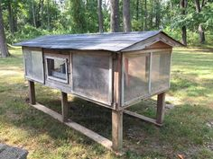 Old Coop Upgraded Into Beautiful New Chicken Home Box Building, Diy Chicken Coop, Nesting Boxes, Side Door, Chickens Backyard, Coops, Farm Animals, Gazebo, Restoration