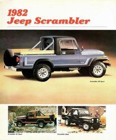 Sunday, July 6, 2014- 1982 CJ, Scrambler, Wagoneer And Select-Trac Brochures