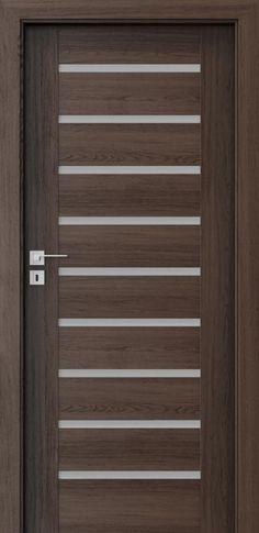 Porta KONCEPT A9 Dąb Hawana Flush Door Design, Grill Door Design, Main Door Design, Front Door Design, Entrance Design, Modern Entrance Door, Entrance Doors, Balcony Railing Design, Bedroom Door Design