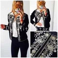 NEW IN CHAQUETA ELONORA Importada. Pana y lentejuelas bordadas. EDICION LIMITADALocal Belgrano Envios Efectivo y tarjetas http://www.oyuelito.com.ar #followme #oyuelitostore #stylish #styles #fashion #model #fashionista #fashionpost #ootd #photooftheday #follow #clothing #instafashion #trendy #chic #girl #trends #summeroutfit #outfitoftheday #selfie #fw16 #showroom #instamood #loveit #look #lookbook #inspirationoftheday #jacket