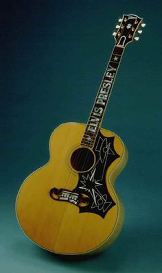 Elvis' Custom J Series Gibson Flat Top.