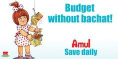 Amul - Amul Ads - Budget Without Bachat