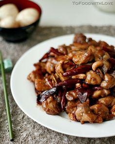 Kung Pao Chicken/fricken with Cashews and Szechuan Pepper
