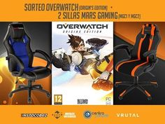 Sorteamos Overwatch para PC y dos fantásticas sillas gaming. Tenéis link en la bio. Suerte a todos #vrutal #sorteo #overwatch by vrutalgames