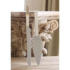 Check out the Vera Wang Wedgwood 54735805749 Love Knots Cake Knife and Server Set