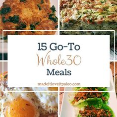 If you've been a reader of this blog, you already know how much I love the Whole30. I don't always love it while I'm doing it, because it's not easy, but the health benefits we've seen from following the program are amazing. Check out this post for more details... #breakfast #dairyfree #grainfree