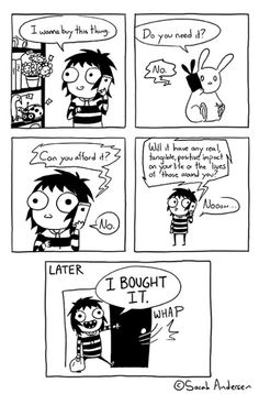 Whenever I Want To Buy Something