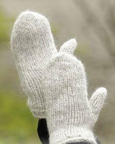 Comment tricoter des moufles - Marie Claire Idées