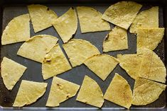 Homemade tortilla chips. To make when I have all the time.