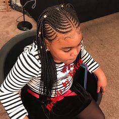Style inspired b , Little Girl Braids, Black Girl Braids, Braids For Kids, Braids For Black Hair, Girls Braids, Braids For Black Kids, Kid Braids, Tree Braids, Black Kids Braids Hairstyles