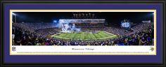 Minnesota Vikings Panoramic Picture - TCF Bank Stadium Panorama - Deluxe Frame $199.95