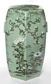 Image result for chinese porcelain celadon garden seat  sc 1 st  Pinterest & ANTIQUE JAPANESE MEIJI ERA HAND PAINTED CELADON GARDEN SEAT ... islam-shia.org