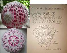 코바늘 뜨개로 만드는 트리 장식볼 도안s+만드는법 : 네이버 블로그 Crochet Christmas Ornaments, Christmas Crochet Patterns, Crochet Snowflakes, Christmas Baubles, Christmas Crafts, Art Au Crochet, Crochet Ball, Thread Crochet, Crochet For Kids