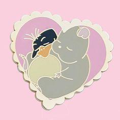 Sleepy Babies hard enamel pin Spirited Away, Ghibli, Kawaii, Cosmic Mermaid Pins