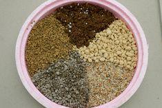 # 無土介質 - 不含土壤,幾乎不含營養素 - 天然有機者如泥炭土、水苔、蛇木  *適於種子盆栽,又以泥碳土較適*  ⚫ 腐植土 : 保留養分、使質地疏鬆  ⚫ 泥炭苔 》略分為 white peat 與 black peat 兩大類 - 白:由水苔屬 genus sphagnu 的苔蘚類 moss 沉積所形成,又稱水苔泥炭 sphagnum peat;黑:水生植物在生長地水體中分解沉降層積而成,主要是蘆葦 reed grass 及沼澤蘚苔 bog moss,又稱蘆葦泥炭 reed peat。 ⚫ 水苔:所有介質材料中最輕、容重只有 0.02g/ml,但是吸水能力最強。 ⚫ 椰纖:使用於介質的有塊狀椰殼碎片及短纖和細粉混合類似泥炭介質,經調製後有 20% 通氣孔隙及 50% 容水量,pH 5.7,容重 0.07g/ml。 ⚫ 鋸木屑 》不能直接用作介質材料,必須經過發酵處理。 ⚫ 樹皮 : 保水、添加養分。  ⚫ 發泡海綿耕:在栽培床中填充發泡綿為栽培介質,使養液由發泡海綿的上方噴灑而出。 ⚫ 渣棉 : 保持濕潤,透氣。